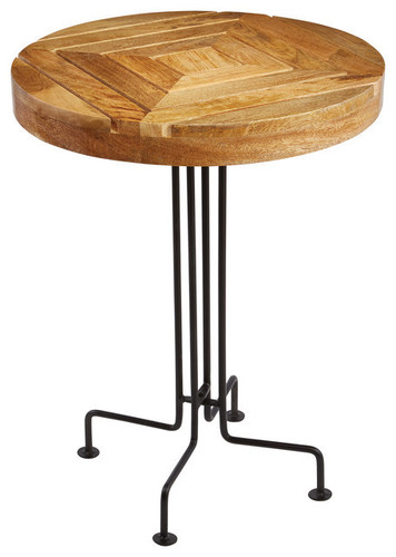 Wooden INDUSTRIAL STOOL