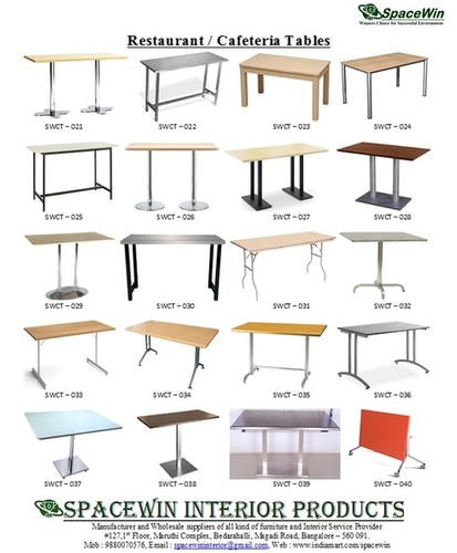Cafeteria Table / Restaurant Table