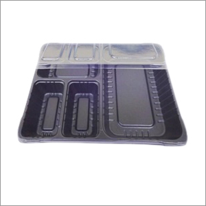 4cp Tray With Lid Black