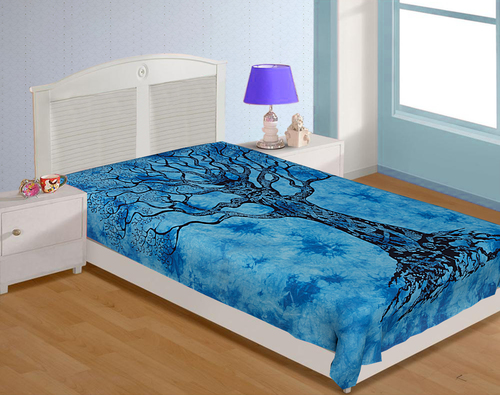 Single Cotton Printed Bedsheets