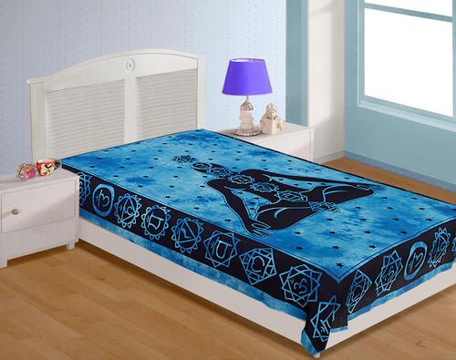 Single Sanganeri Printed Bedsheets