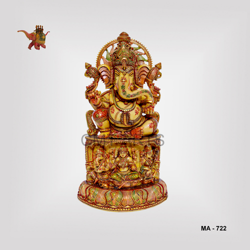 Cultured Marble Ganesha