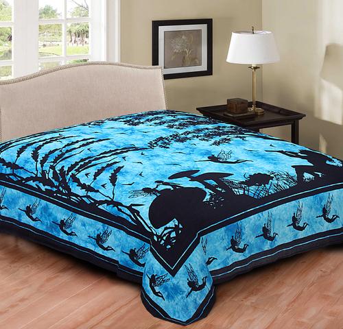 Single & Double Rajasthani Bedsheets