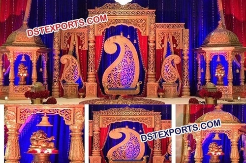 Wedding Fiber Rajwada Stage