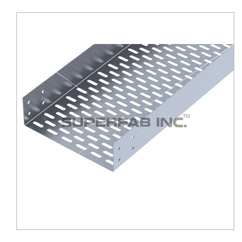 Straight Flange Perforated Cable Tray