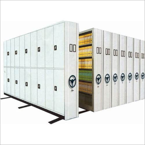 Mobile Compactor Storage Rack Systems