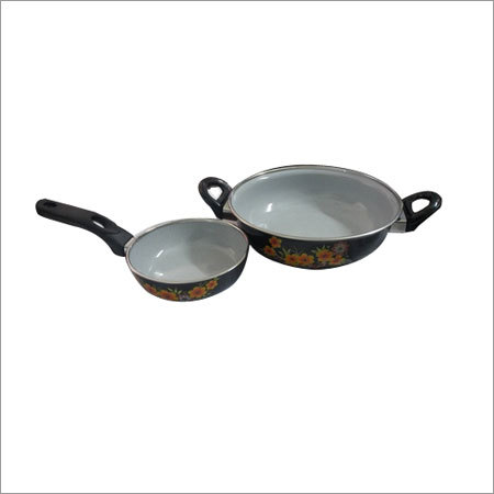 2 Piece Enamel Cookware Set