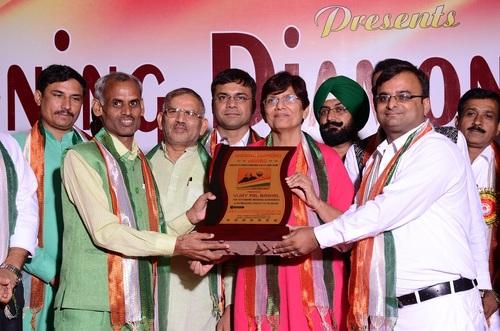 AWARD GIVE TO MANOJ BHAGHAL
