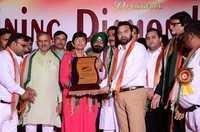 Shinning Award Give To Najir Ahmed Khan