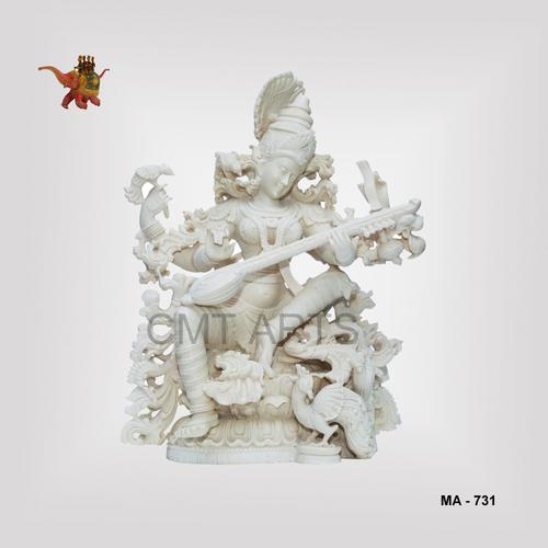 Cultured Marble Saraswati