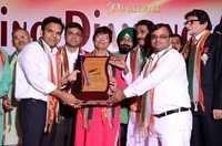 Shinning Award Give To Shripal Jain