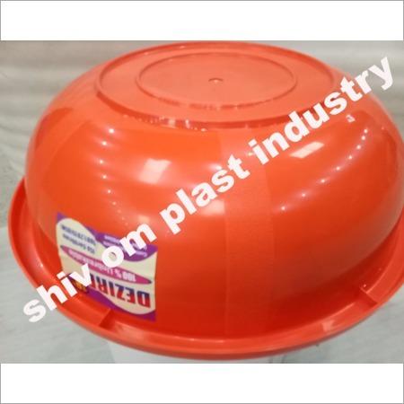 Colored Plastic Tub