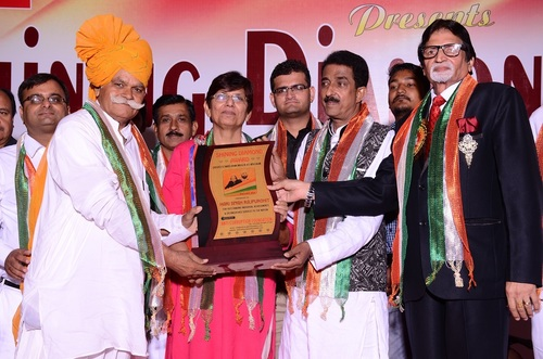 SHINNING AWARD GIVE TO HARI SINGH RAJPUROHIT