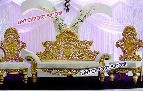 Pakistani Wedding Stage Furniture
