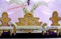 Pakistani Wedding Stage Furniture