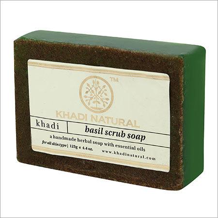 Herbal Basil Scrub Soap