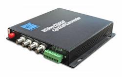 4 Channel Digital Video Optical Transceiver