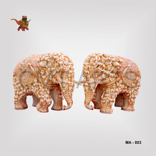 Cultured Marble Elephant