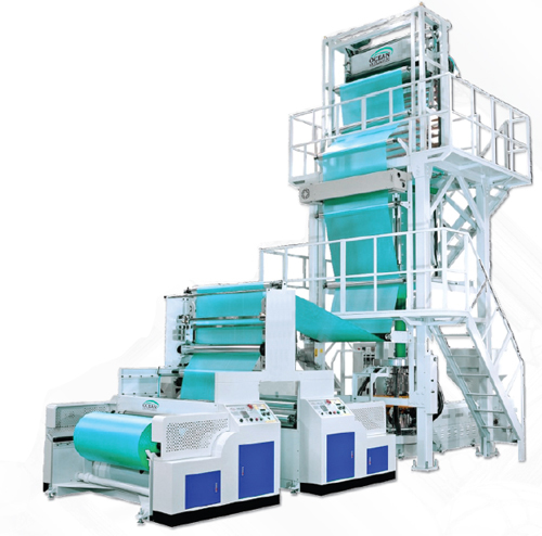 PP HM LD LLDPE Blown cast Film Machine Plant