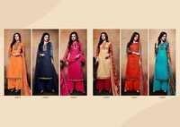 KALA FASHIONS (TANYA VOL- 49) Straight Salwar Kameez Suits