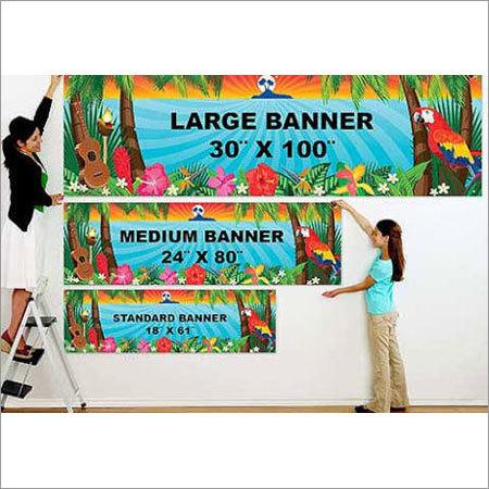 Printed Banner
