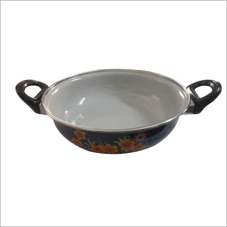 Customized Enamel Kadai