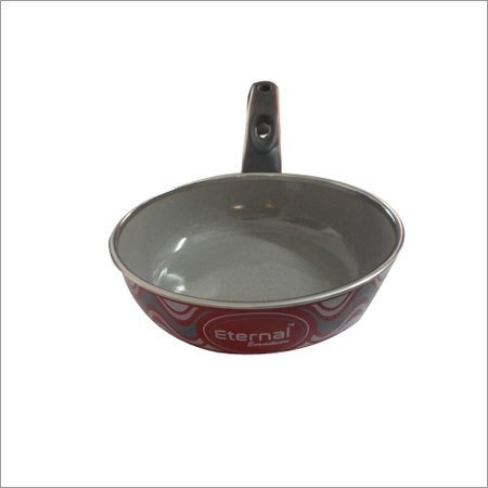 Cast Iron Enamel Frying Pan