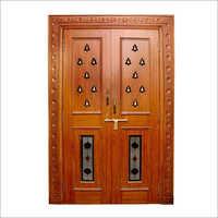 Pooja wooden Doors