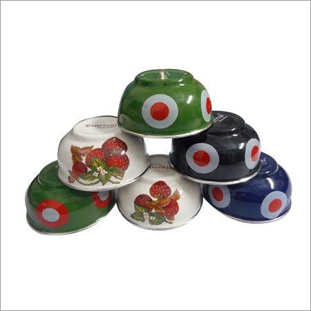 Enamel Pudding Bowl