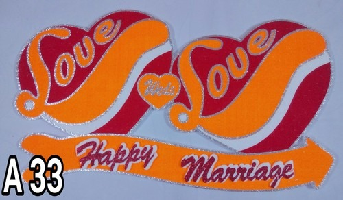 Marriage Heart Decorative Article