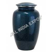 Blue Aluminium Urns