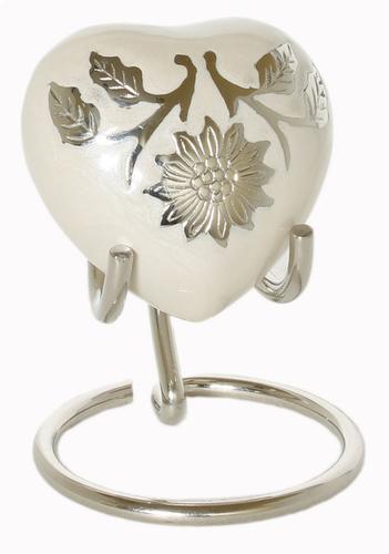 White Sunflower Heart