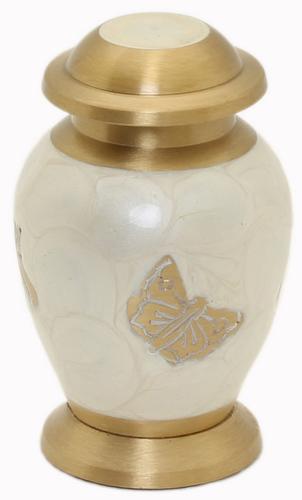 White Pearl Butterfly Keepsake