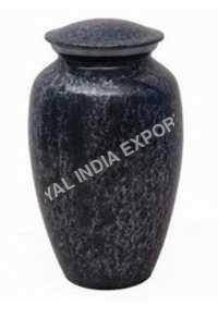 Aluminium Black Urn