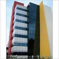 Yellow Red 4mm- Outdoor Decorative Aluminum Composite Wall Panel ACP Sheet
