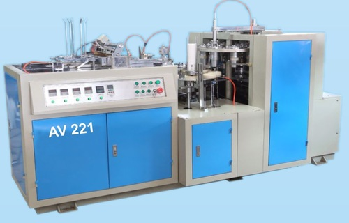 Automatic Paper Cup Forming Machine : AV-221