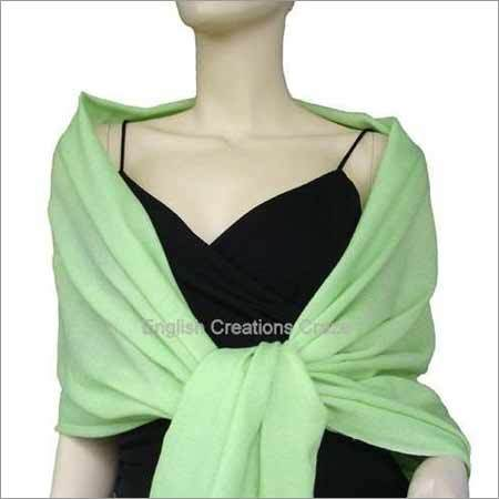 Cashmere Plain Color Stoles
