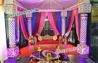 Indian Hindu Wedding Ceremony Stage