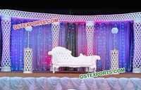 Halfmoon Wedding Stage