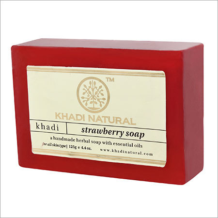 Herbal Strawberry Soap