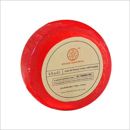Rose & Honey Loofah Soap