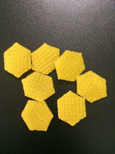 3D Hexagonal Shape Papad