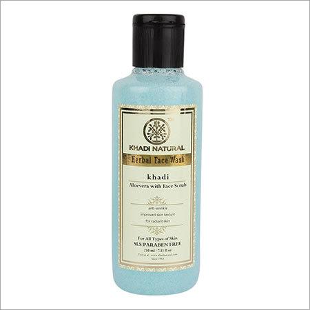 Aloevera Face Wash With Scrub (SLS & Paraben Free)