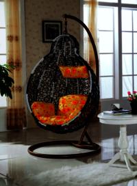 Pe Rattan Hanging Swing Chair