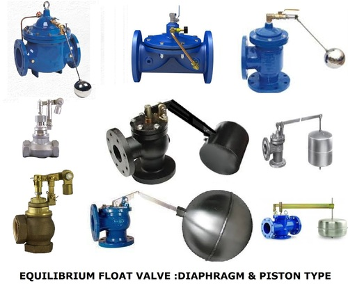 Equilibrium float valves