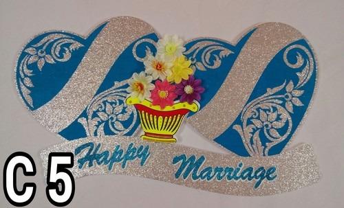 Wedding Thermocol Heart