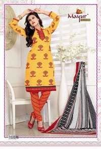 Ladies Unstitched Cotton Suits Wholesale