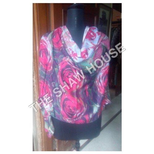 Silk Modal Printed Stole