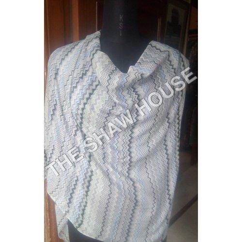Silk Wool Printed Stoles