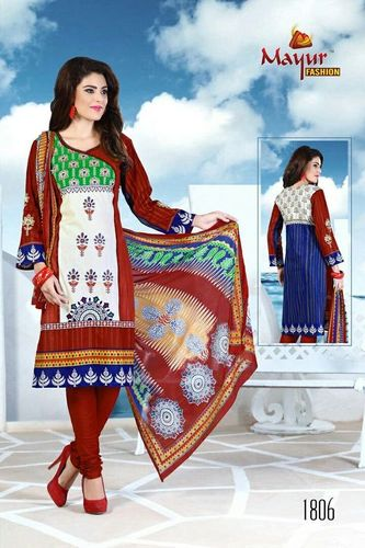 Panihari Embroidery Dress Materials